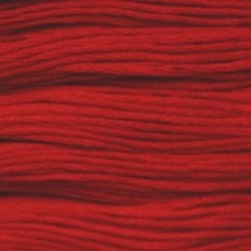 Presencia Embroidery Floss-1166 Bright Red
