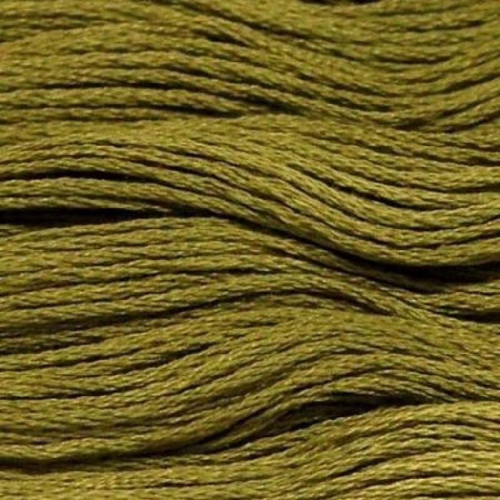 Presencia Embroidery Floss-5236 Dark Khaki Green