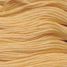 Presencia Embroidery Floss-1128 Ultra Pale Yellow