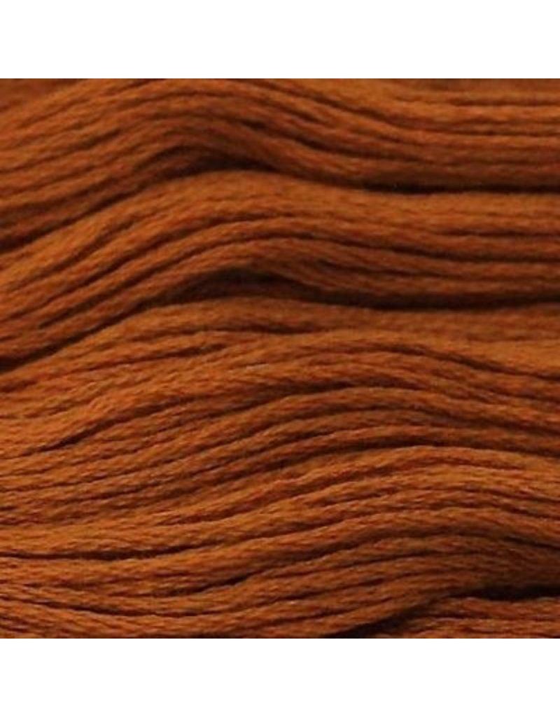 Presencia Embroidery Floss-7740 Dark Golden Brown