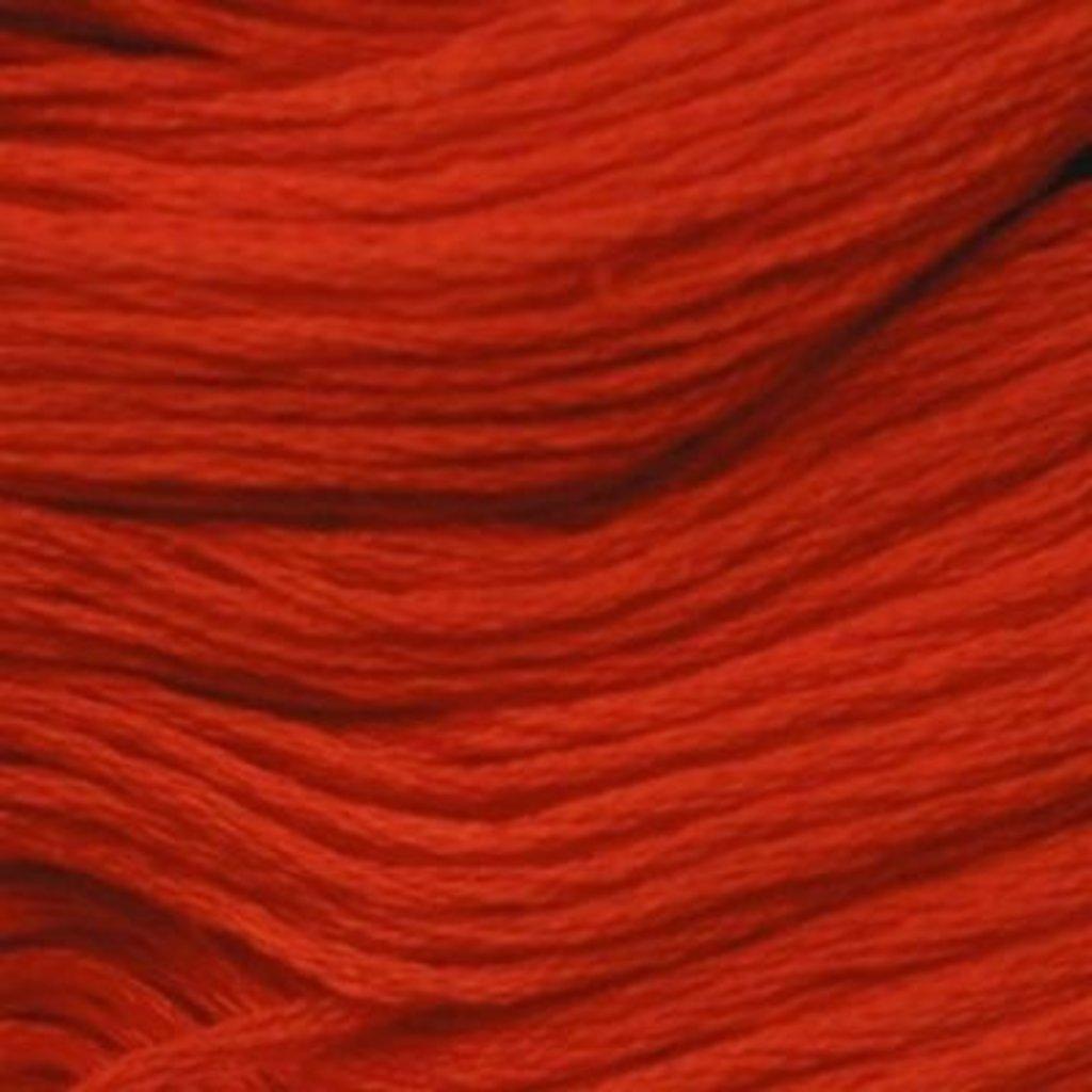Presencia Embroidery Floss-1163 Bright Orange Red