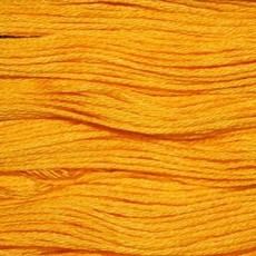 Presencia Embroidery Floss-1232 Deep Canary