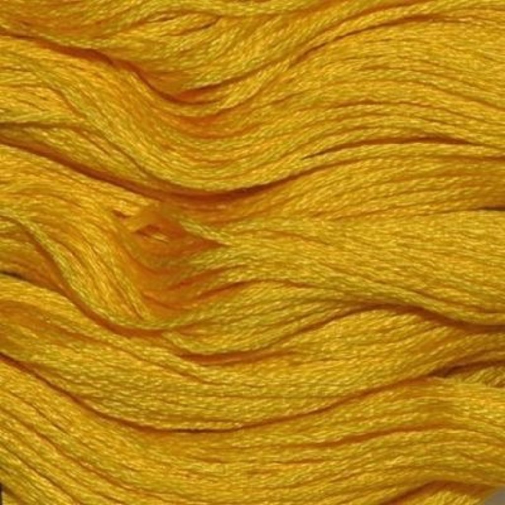 Presencia Embroidery Floss-1225 Dark Lemon