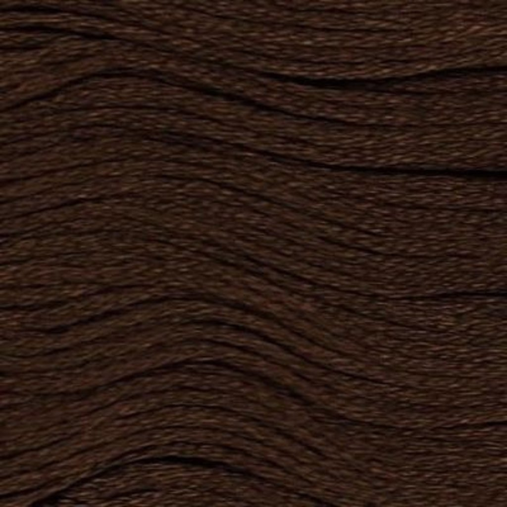 Presencia Embroidery Floss-8083 Dark Coffee Brown