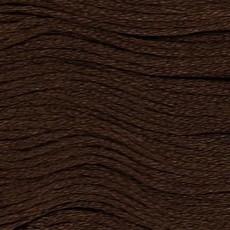 Presencia Embroidery Floss-8083 Dark Coffee Brown