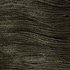 Presencia Embroidery Floss-8589 Very Dark Beaver Gray