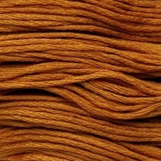 Presencia Embroidery Floss-1072 Dark Golden Brown