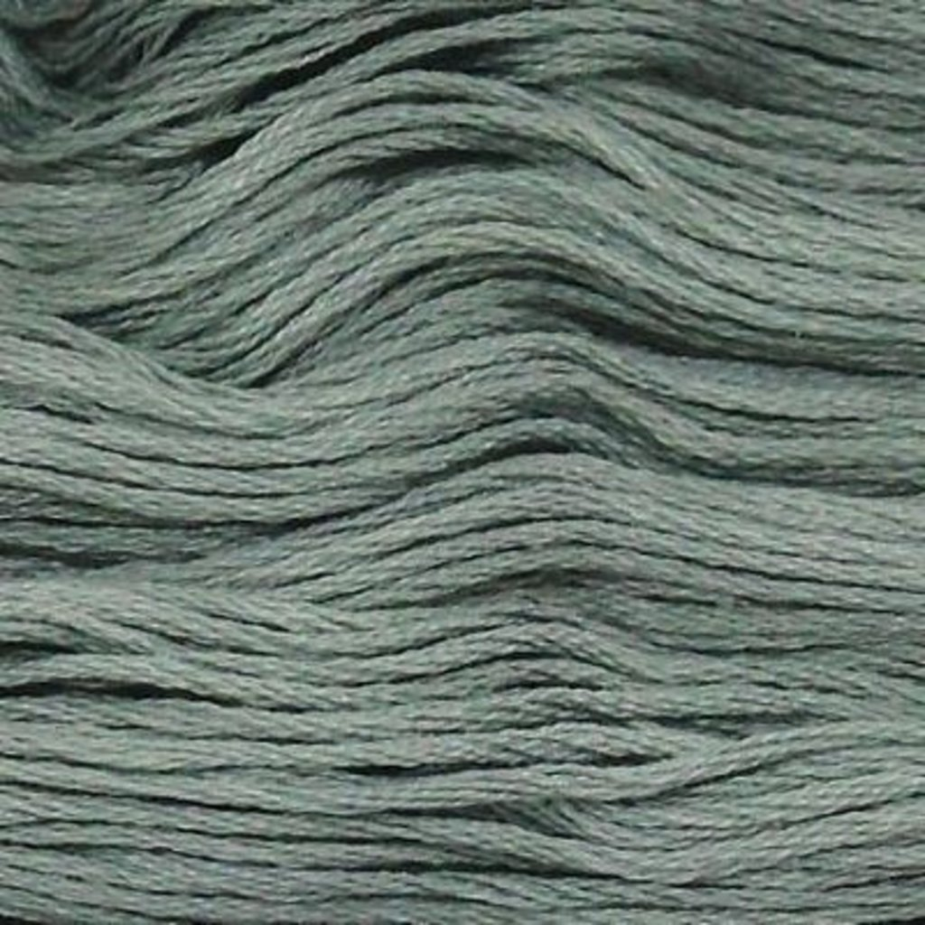 Presencia Embroidery Floss-3733 Medium Green Gray