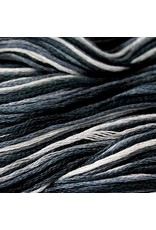 Presencia Embroidery Floss Variegated-9985 Thunderstorm Gray