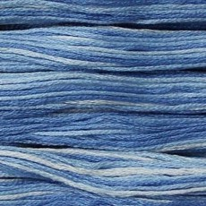 Presencia Embroidery Floss Variegated-9640 Powder Puff Blue