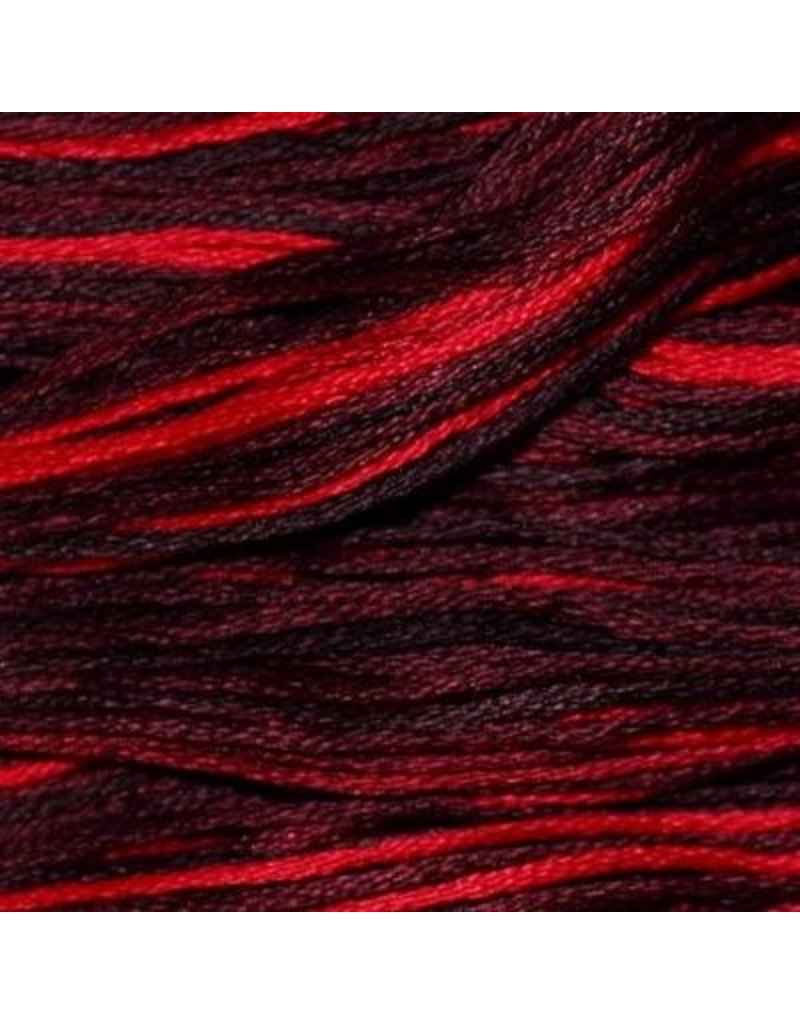 Presencia Embroidery Floss Variegated-9275 Red And Black