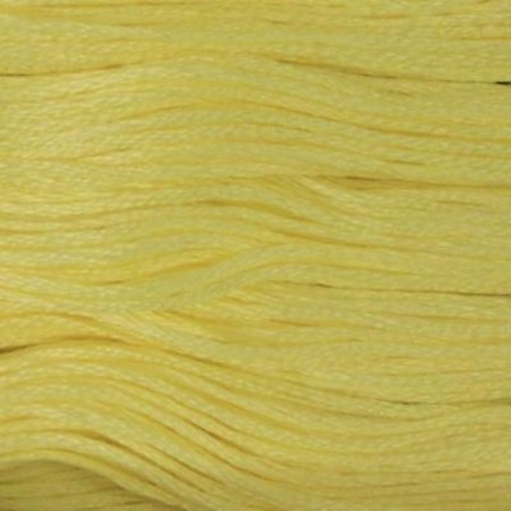 Presencia Embroidery Floss-1217 Light Lemon