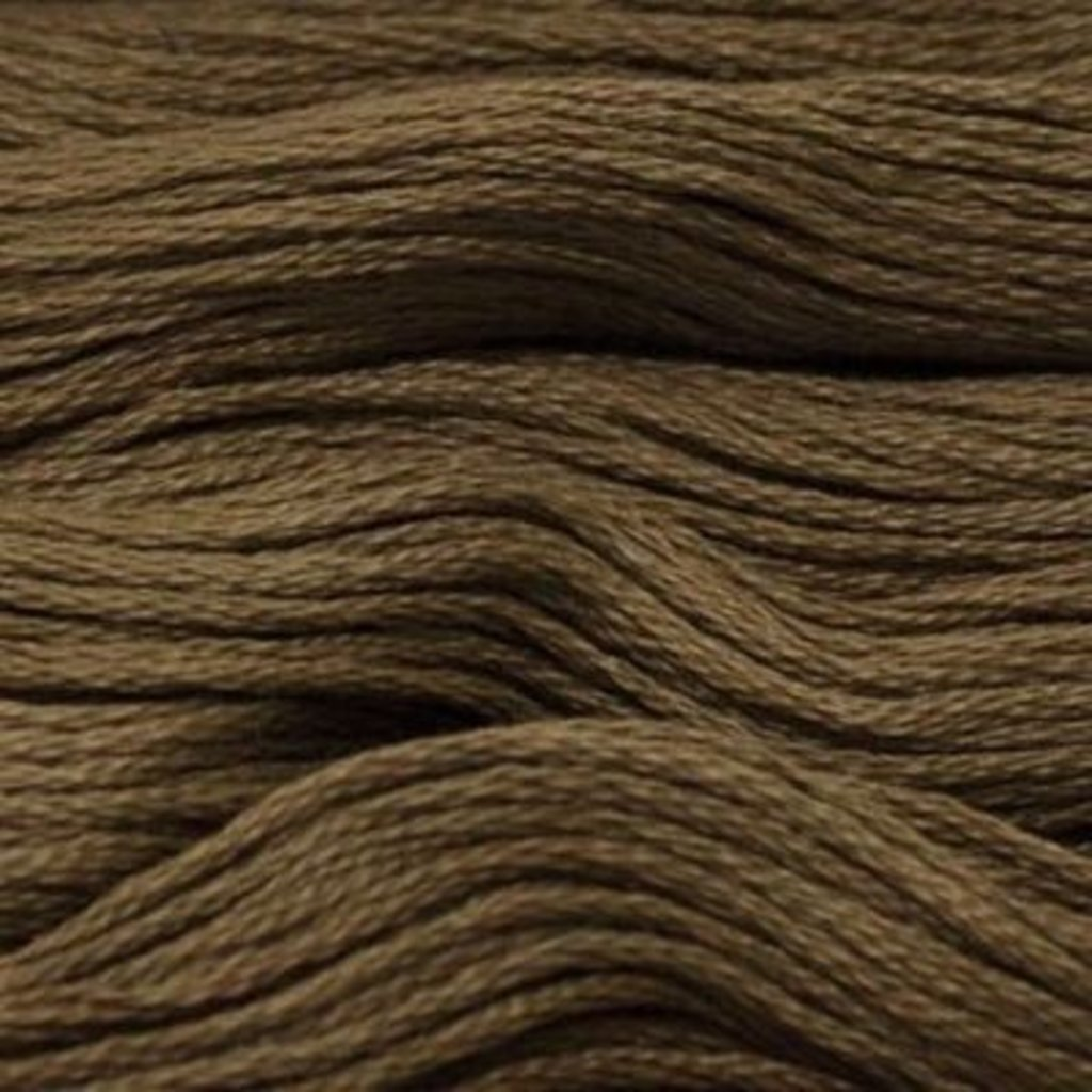 Presencia Embroidery Floss-8327 Dark Drab Green Brown