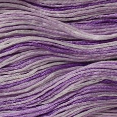 Presencia Embroidery Floss Variegated-9480 Lavender Lace
