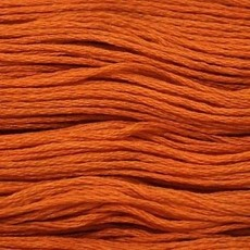 Presencia Embroidery Floss-7567 Medium Orange Spice