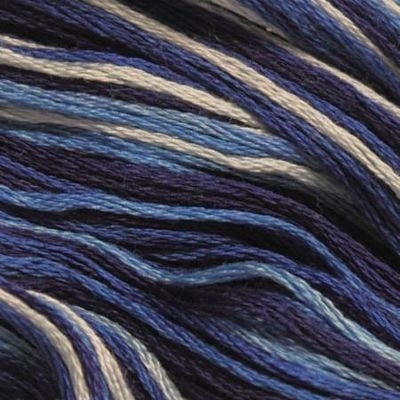 Presencia Embroidery Floss Variegated-9725 Night Sky