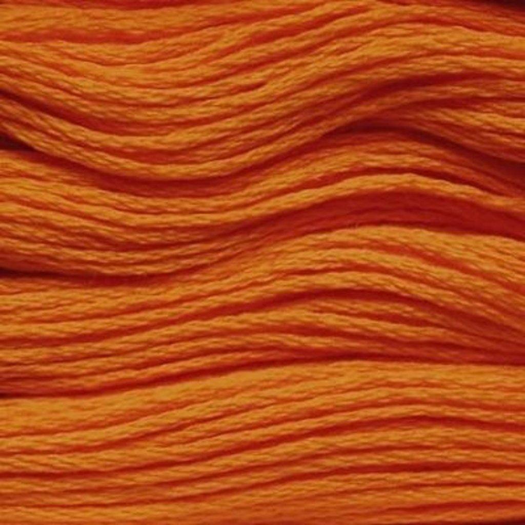 Presencia Embroidery Floss-1152 Medium Tangerine