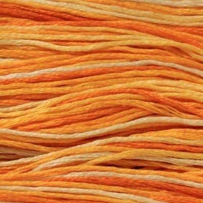 Presencia Embroidery Floss Variegated-9100 Tangerine Twist