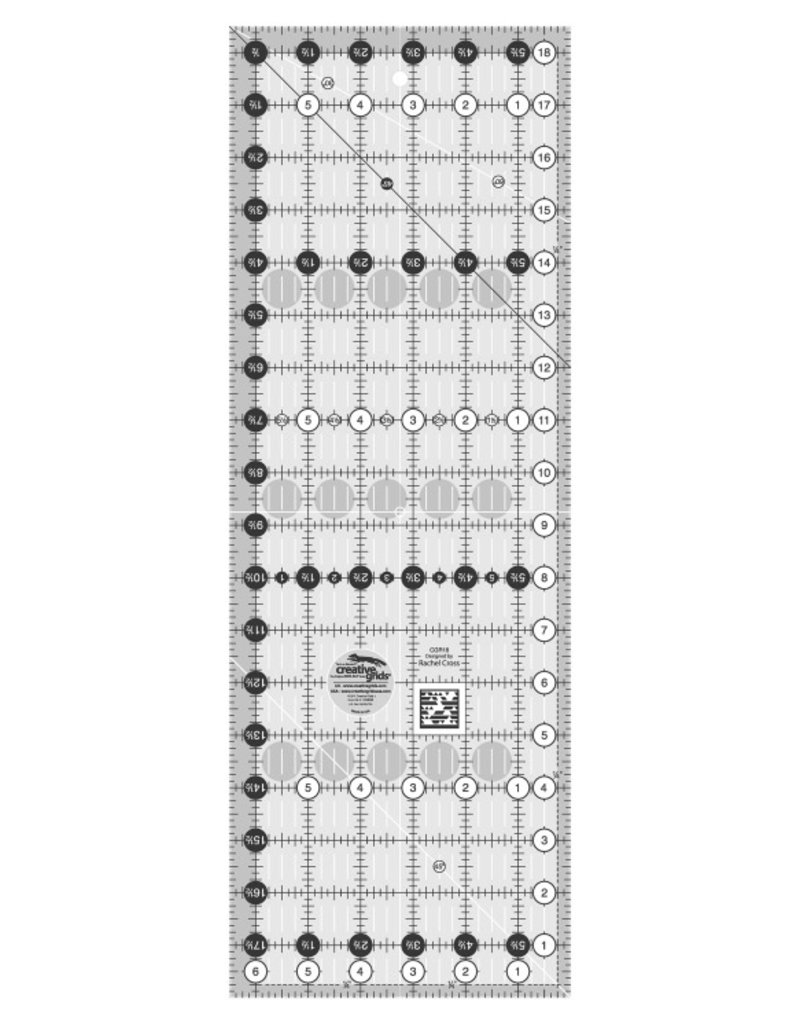 "Creative Grids Ruler 6.5"" x 18.5"""