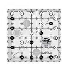 """Creative Grids Ruler 5.5"""" x 5.5"""""""