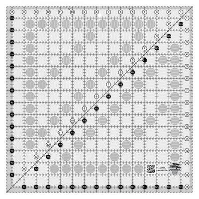 "Creative Grids Ruler 15.5"" x 15.5""<br />Ruler, Creative Grids 15.5x15.5"