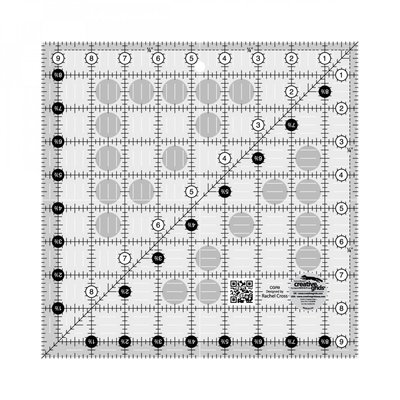 "Creative Grids Ruler 9.5"" x 9.5"""