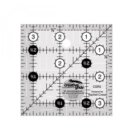 "Creative Grids Ruler 3.5"" x 3.5"""