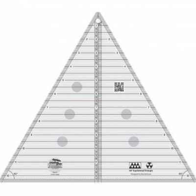 "Creative Grids 60 Degree Triangle 12 1/2"" Quilt Ruler"