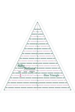 Nifty Notions Bias Triangle Ruler