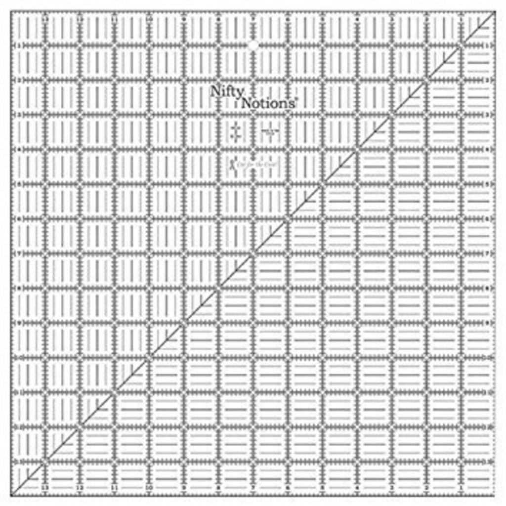 Nifty Notions 14 x 14 Ruler
