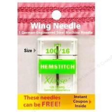 Klasse Needles- Wing Needle-Hemstitch 100/16