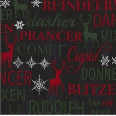 Christmas Cabin C5787-Reindeer