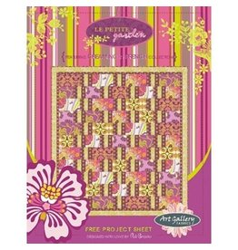 Le Petite Garden Kit-Includes Fabric for Quilt Top Quilt Binding and Pattern