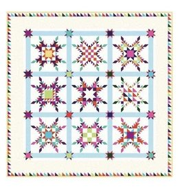 Star of Chamblie Quilt Kit-Includes fabric for quilt top and binding