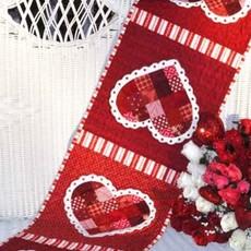 Patchwork Valentine Tablerunner Kit