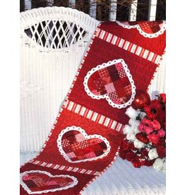 Patchwork Valentine Tablerunner Kit