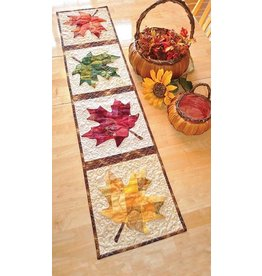 Patchwork Maple Leaf Tablerunner Kit