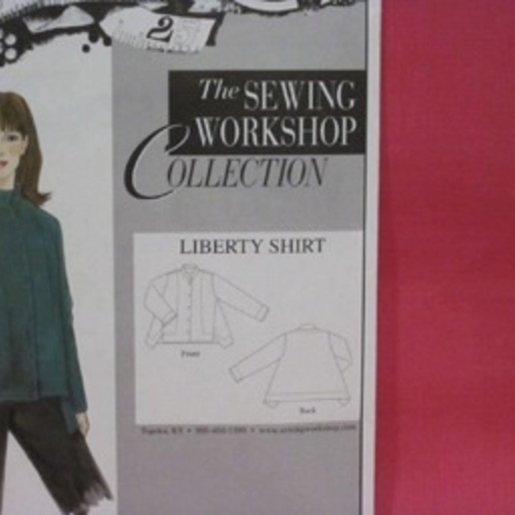 Liberty Shirt Kit - Fuscia Linen