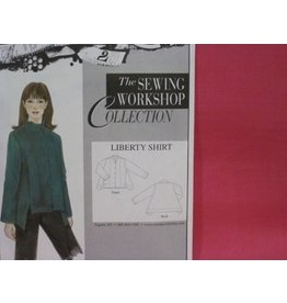 Liberty Shirt Kit - Fuscia Linen