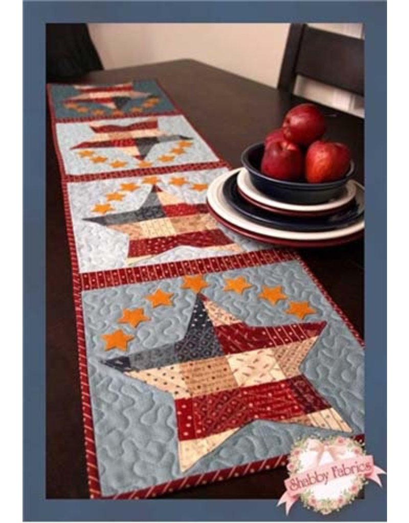 Patchwork Patriotic Tablerunner Kit