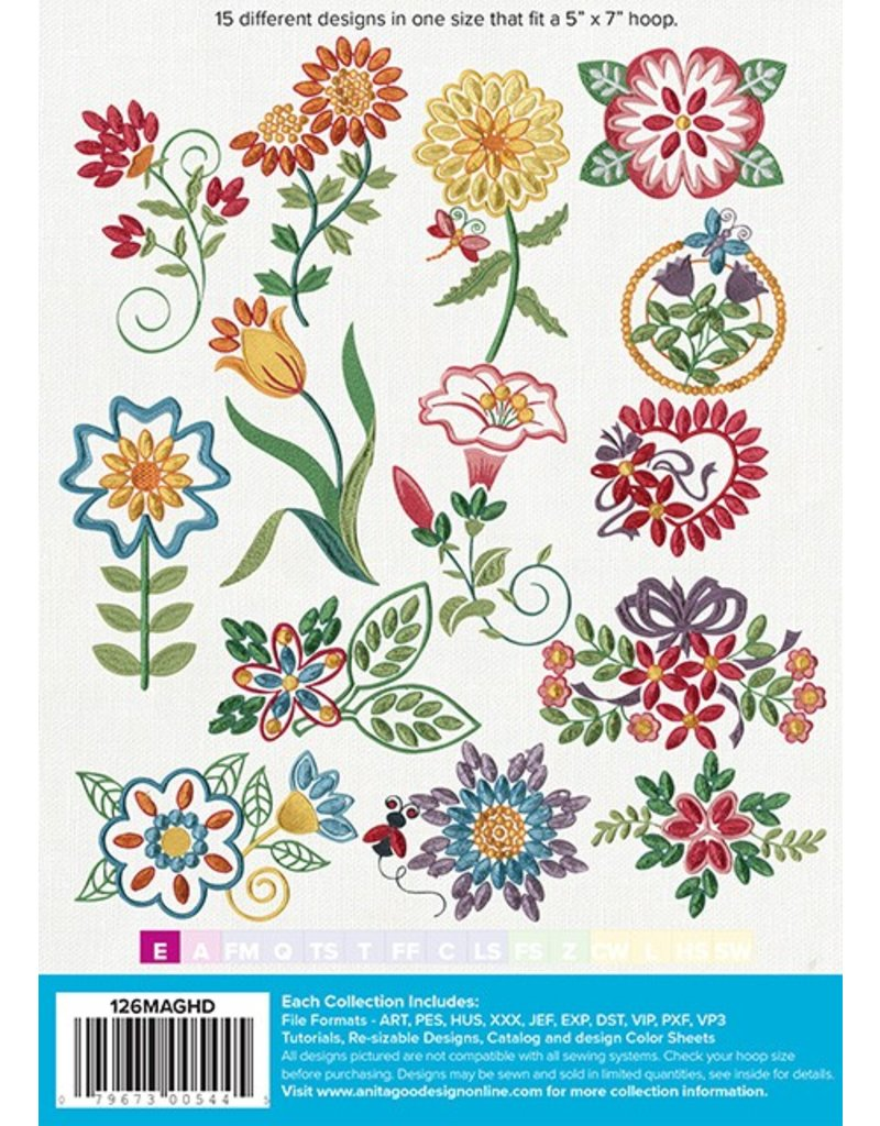 Fringe Flowers Mini Design Pack