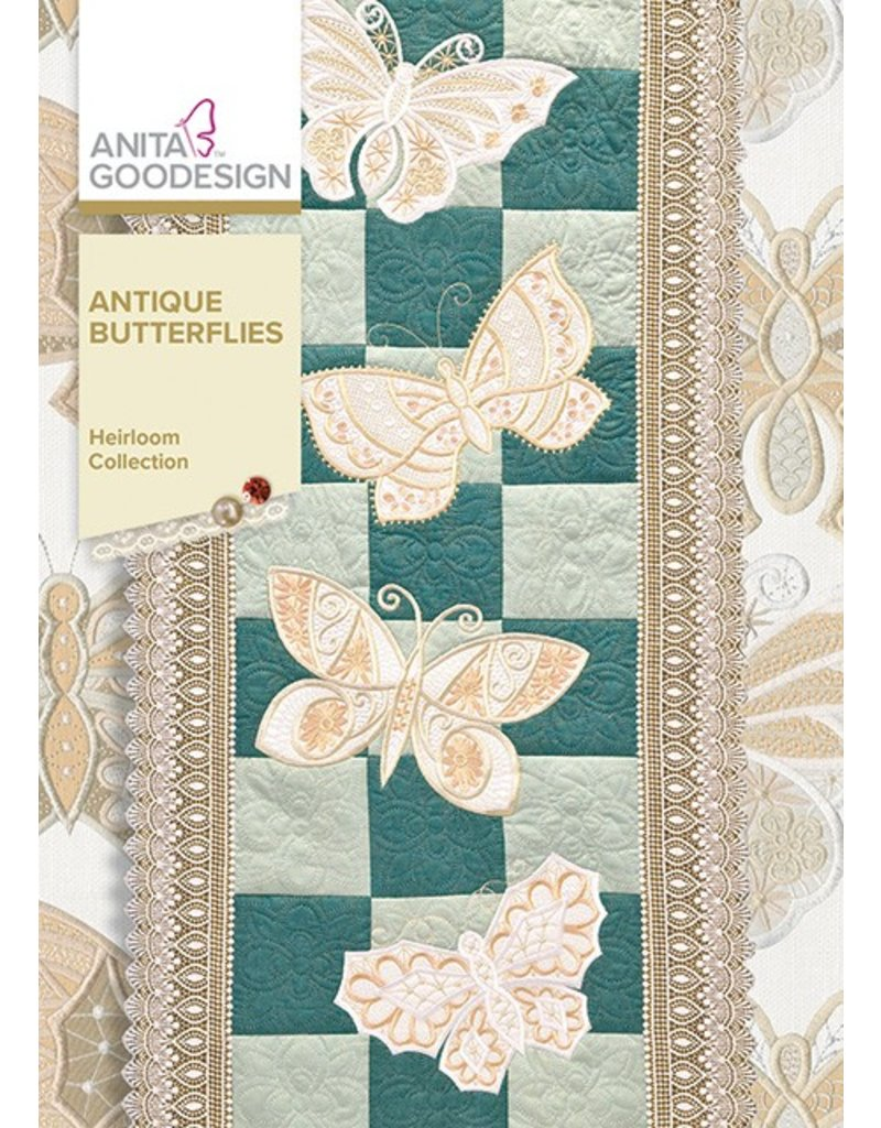 Antique Butterflies Design Pack