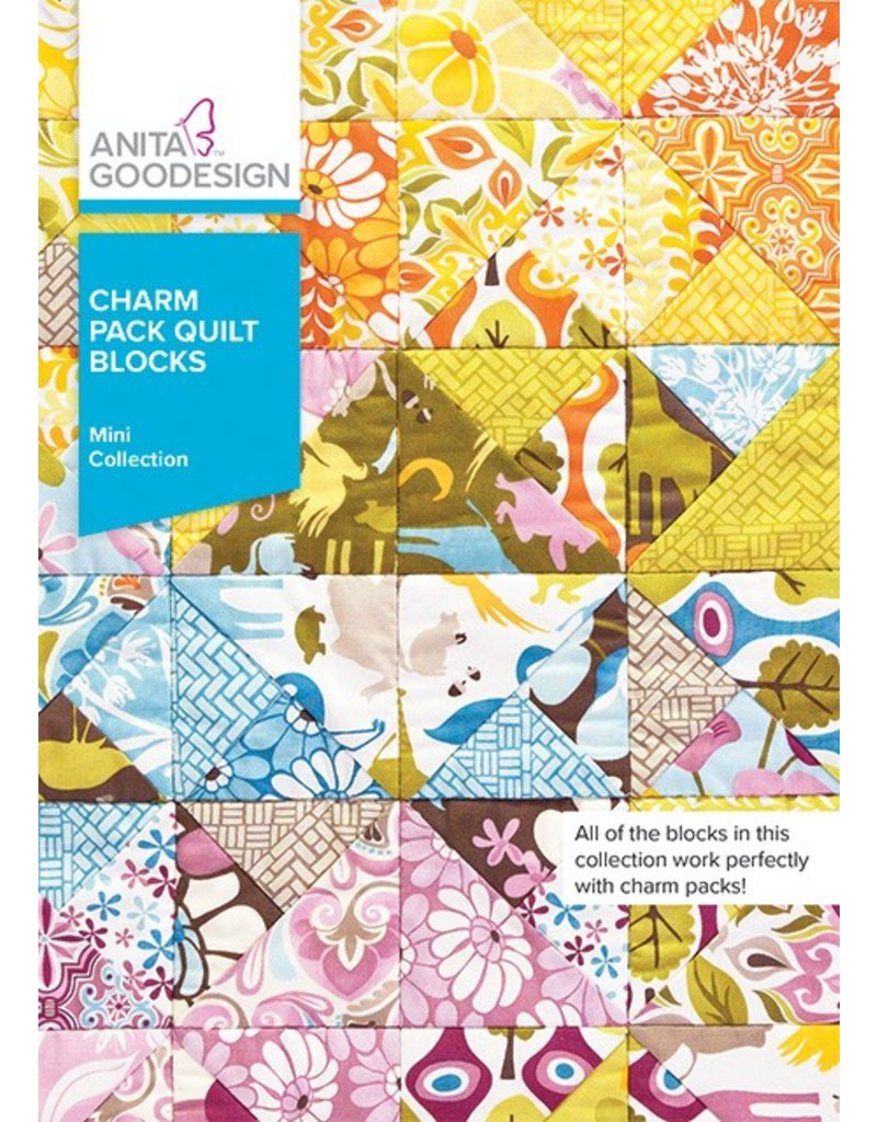 Charm Pack Quilt Blocks Design Pack