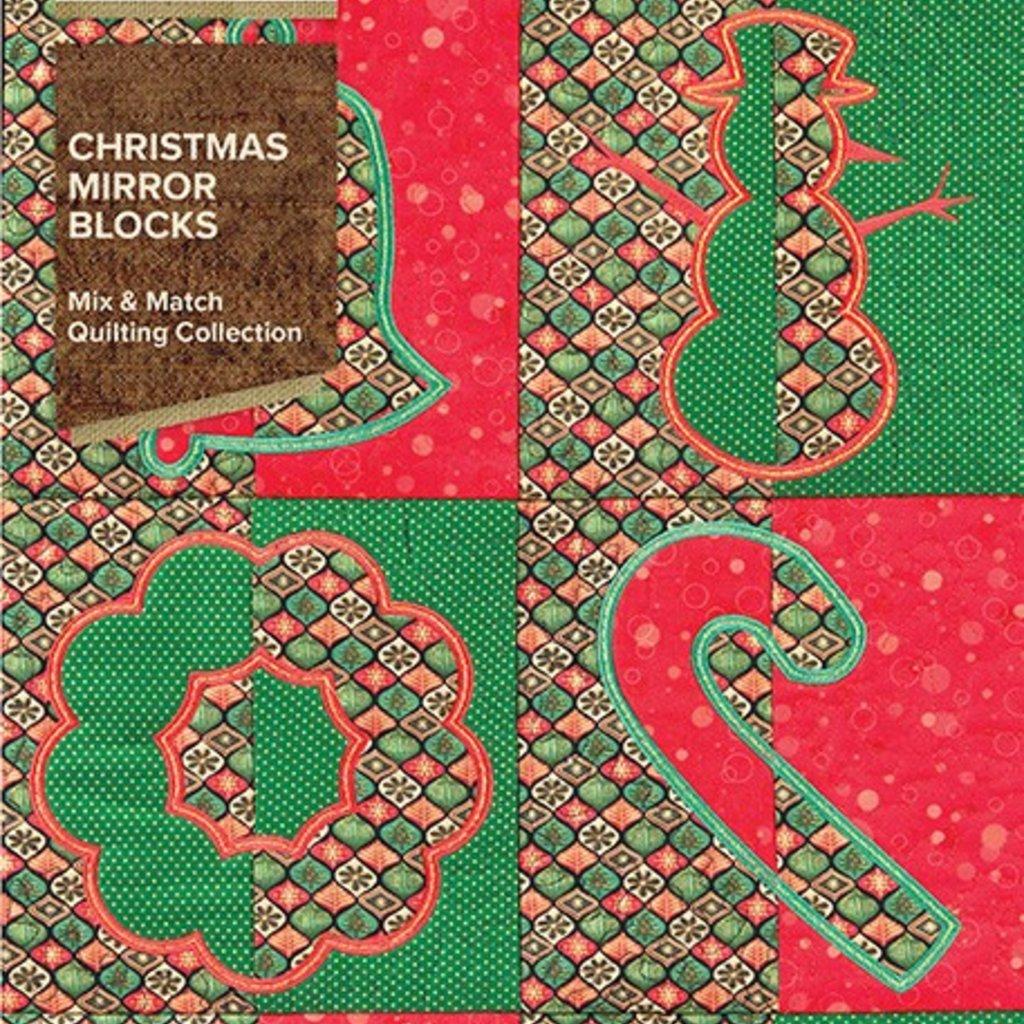 Christmas Mirror Blocks Design Pack