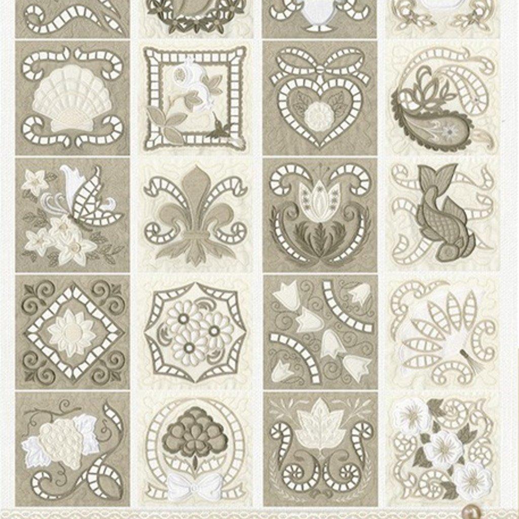 Classic Cutwork Blocks Design Pack