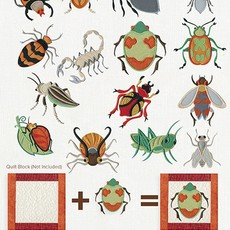 Embroidered Additions Bugs Design Pack