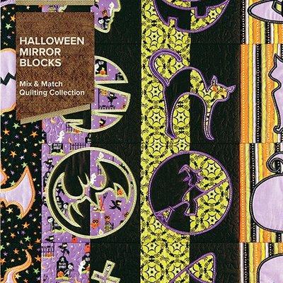 Halloween Mirror Blocks Emb. CD