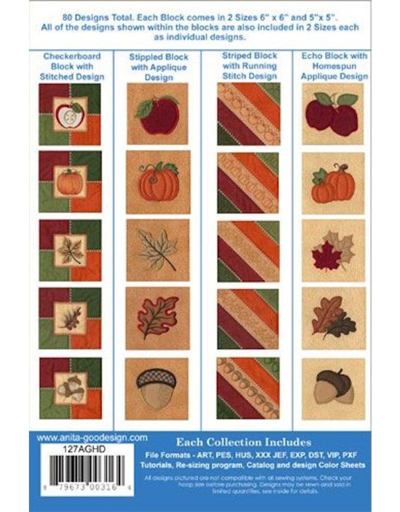 Harvest Quilt Design Pack
