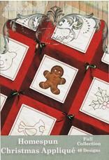 Homespun Christmas Applique Design Pack