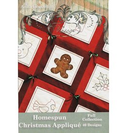 Homespun Christmas Applique Design Pack